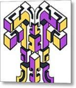 Maze Build 1 Metal Print