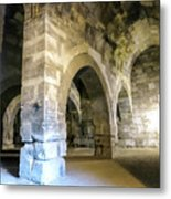 Maze Of Arches Metal Print