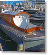Mb 172 Epic Lass In Darling Harbour Metal Print