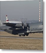 Mc-130h Combat Talon II Of The U.s. Air Metal Print