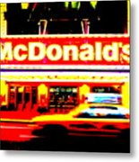Mc Donalds On Broadway  Metal Print