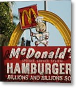 Mc Donalds Metal Print