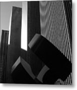 Mc Graw Hill Building Metal Print