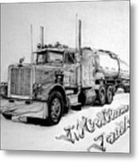 Mccallum Trucking Metal Print