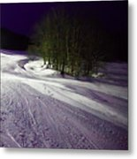 Mccauley Evening Snowscape Metal Print