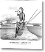 Mcclellan The Gunboat Candidate Metal Print