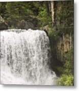 Mccloud Upper Falls Metal Print