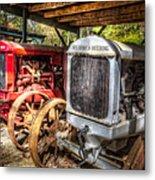 Mccormick Deering Tractors II Metal Print