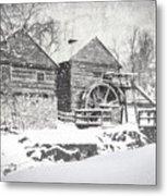 Mccormick's Farm February 2012 Series Vi Metal Print by Kathy Jennings