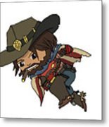 Mccree Usa Metal Print