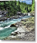 Mcdonald Creek 2 Metal Print