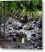 Mcdonald Lake Stream Metal Print