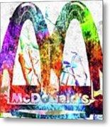 Mcdonalds Metal Print