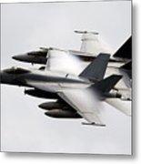 Mcdonnell Douglas F/a-18 Hornet Metal Print