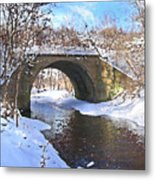 Mcgowan Bridge Metal Print