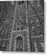 Mcgraw Hall - Bw Metal Print