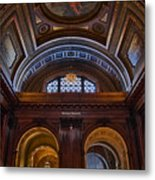 Mcgraw Rotunda Nypl Metal Print
