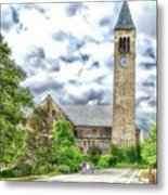 Mcgraw Tower Cornell University Ithaca New York Pa 10 Metal Print