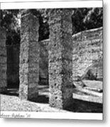 Mcintosh Sugar Mill Tabby Ruins 1825  Metal Print