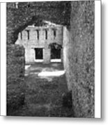 Mcintosh Sugar Mill Tabby Ruins Arch Metal Print