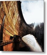 Mckays Dam Waterjet Metal Print