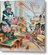 Mckinley Tariff Act, 1894 Metal Print by Granger