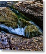 Mckinney Falls State Park-lower Falls 4 Metal Print