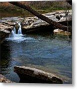 Mckinney Falls State Park-upper Falls 6 Metal Print