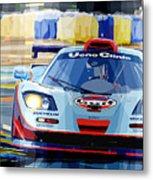 Mclaren Bmw F1 Gtr Gulf Team Davidoff Le Mans 1997 Metal Print by Yuriy  Shevchuk
