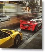 Mclaren F1 Gtr With Speciale And Integrale And 918 Metal Print