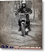 Mcqueen Isdt 1964 Metal Print by Mark Rogan