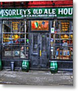 Mcsorley's  In Color Metal Print