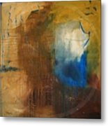 Me - Abstract Colors Metal Print