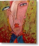 Me Jane Who The Hell Are You Metal Print by Charlie Spear