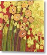 Meadow In Bloom Metal Print