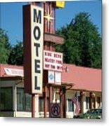 Mecca Motel Metal Print