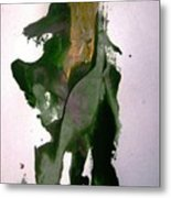 Mechanical Don Quixote Going Other Way Metal Print