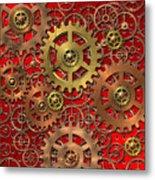 Mechanism Metal Print by Michal Boubin