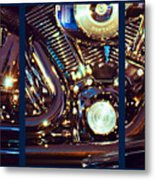 Mechanism Metal Print