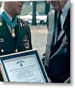 Medal Of Honor Ceremony Metal Print