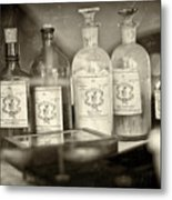 Medicinal Remedy Metal Print