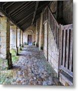Medieval Church Entrance Metal Print