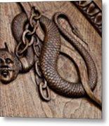 Medieval Demon - 11th Century, Turin, Italy Metal Print