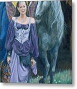Medieval Fantasy Metal Print
