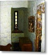 Medieval Monastic Cell Metal Print