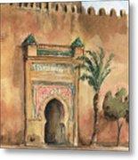 Medina Morocco,  Metal Print