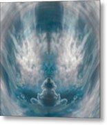 Meditating Cloud - 3 Metal Print