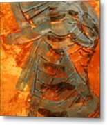 Meditation - Tile Metal Print