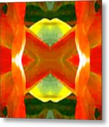 Meditation Metal Print by Amy Vangsgard
