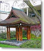 Meditation Pagoda Metal Print